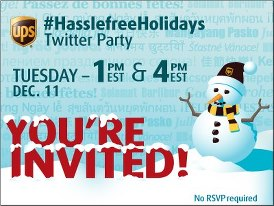UPS Twitter Party