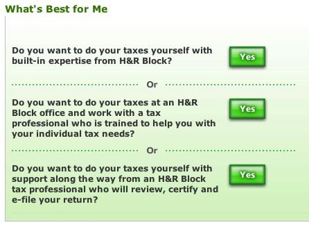 H&R Block Quiz