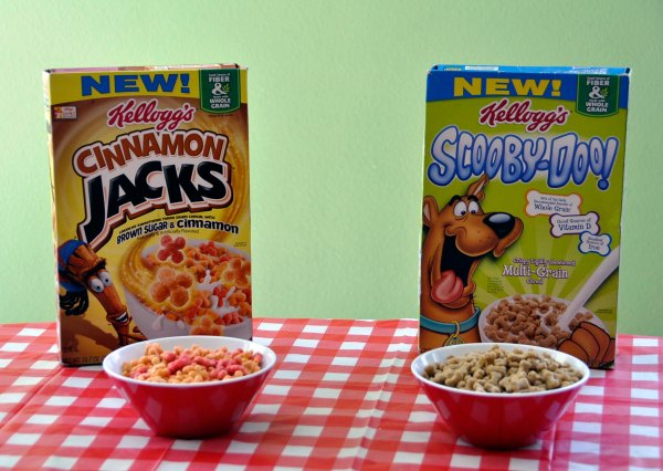 Kellogg's New Cereals