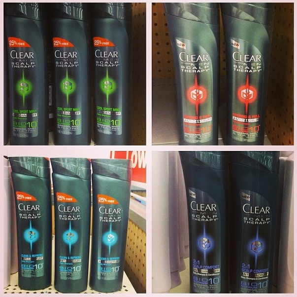 Clear Scalp & Hair Beauty Therapy Men's Line