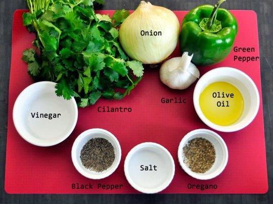 Sofrito Ingredients