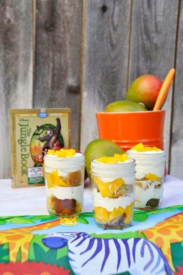 Jungle Shortcake in a Jar