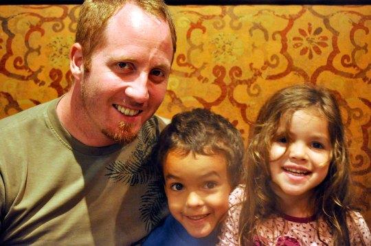 Family at Fondue