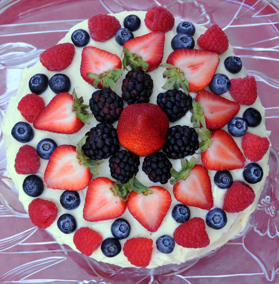 Chantilly Fruit Cake Recipe