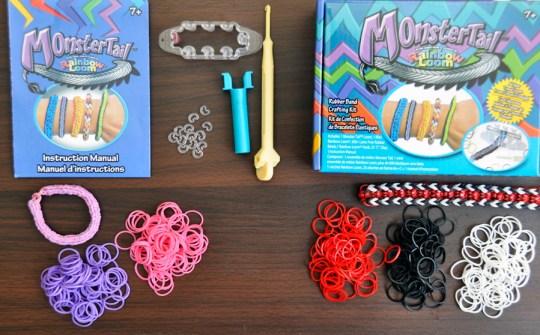 Monster Tail Rainbow Loom Kit