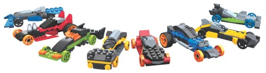 Mega Bloks Hot Wheels Super Race Set