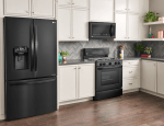 LG Kitchen Matte Black Range