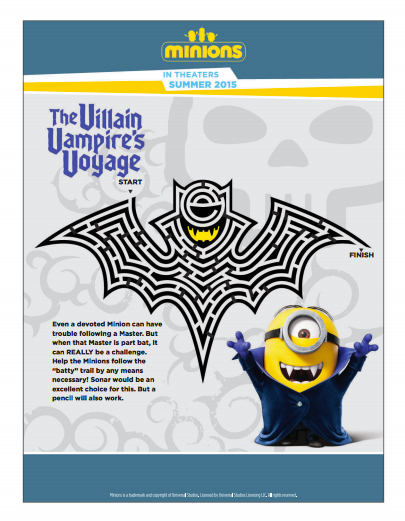 Minions Free Printable Activities And Coloring Pages Showing Our Minions Style