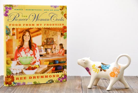 Pioneer Woman Flea Market Cow Creamer