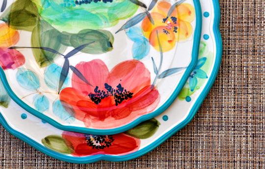 Pioneer Woman Vintage Bloom Dinnerware Set