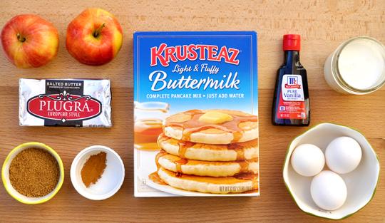Baked Pancake Ingredients