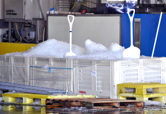 Ice For Chilling Produce