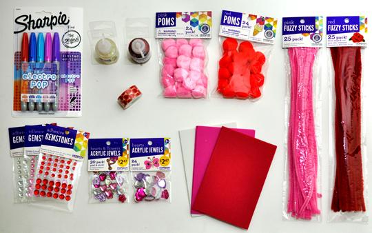 Valentine's Day Crafting Supplies