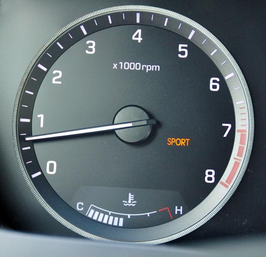 Hyundai Sonata Sport Mode