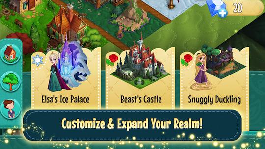 Disney Enchanted Tales Realms