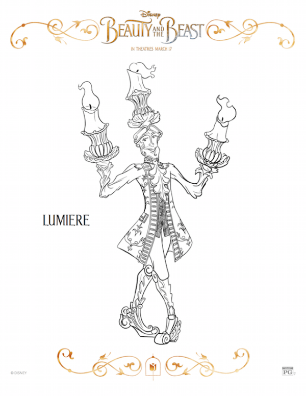 Lumiere - Beauty and the Beast