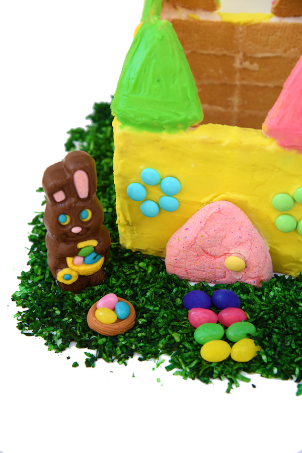 Side of Easter Shortbread House