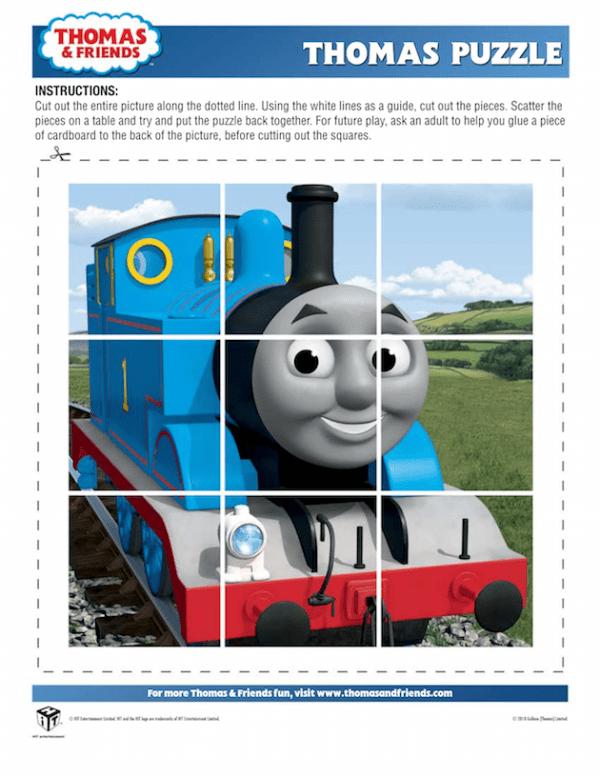 Thomas Puzzle - Thomas the Tank Engine