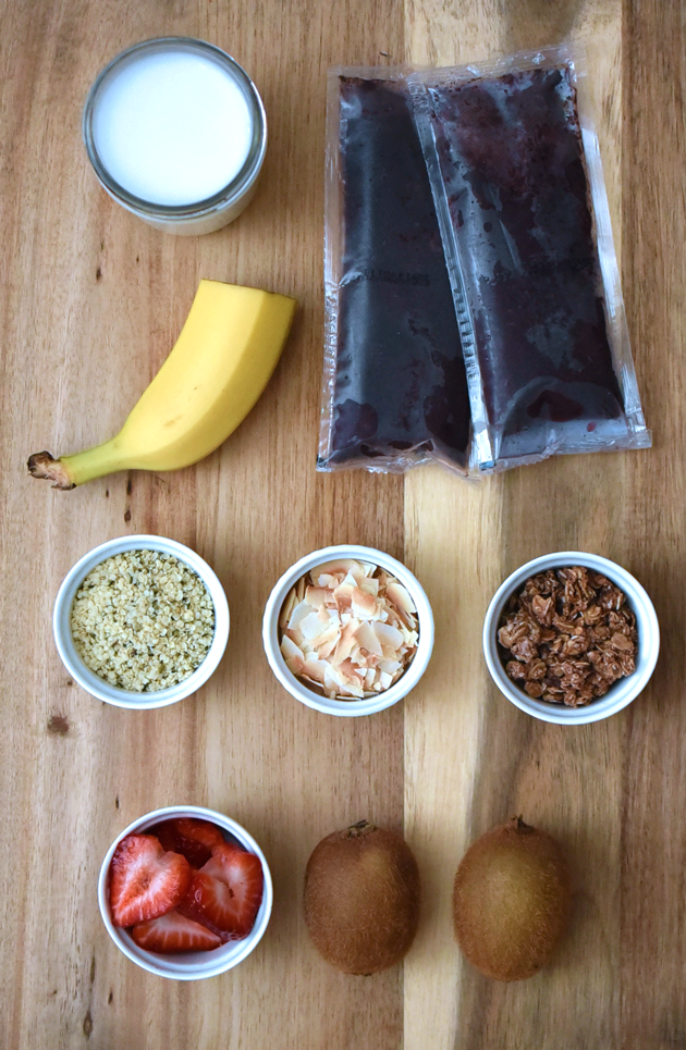 Acai Bowl Ingredients