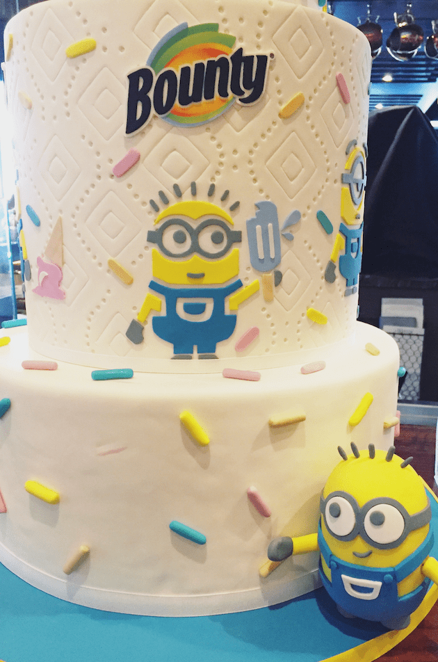 Despicable Me 3 Bounty Cake