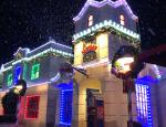 Snow Over Fun Town at LEGOLAND