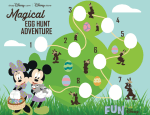 Disney Printable Magical Egg Hunt