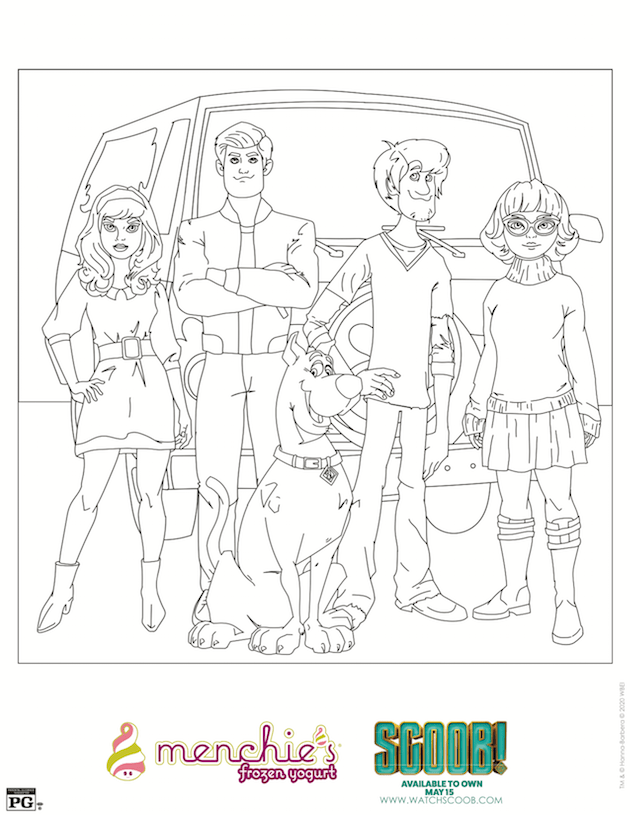 Scoob Printables And Activity Sheets