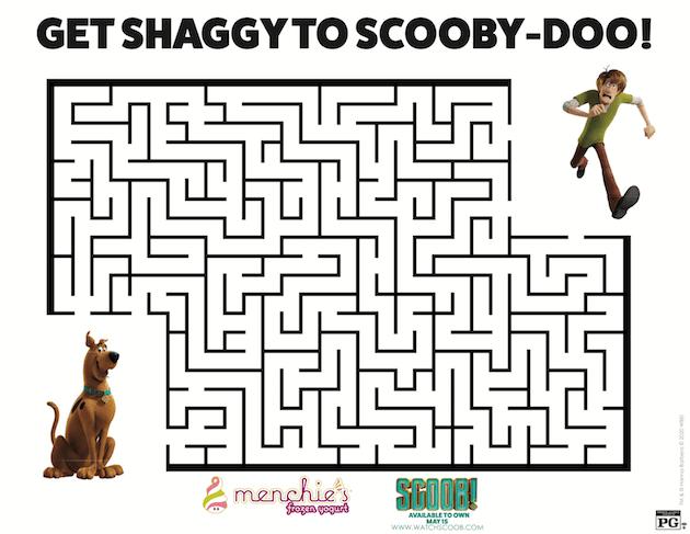 SCOOB Printable Maze