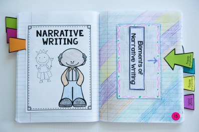 Narrative Writing Tab