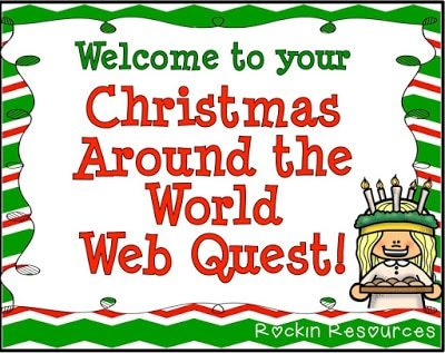 Web Quest for Christmas Around the World