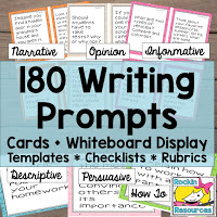 180 writing prompts