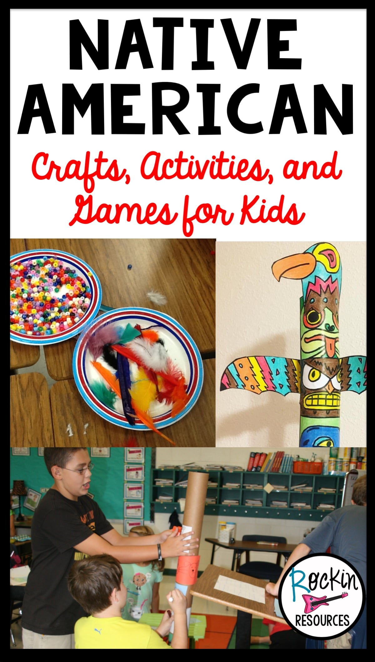 Native American Crafts Activities And Games For Kids
