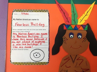 create a native american name and symbol for the name. Make a craft representing you as as a Native American.