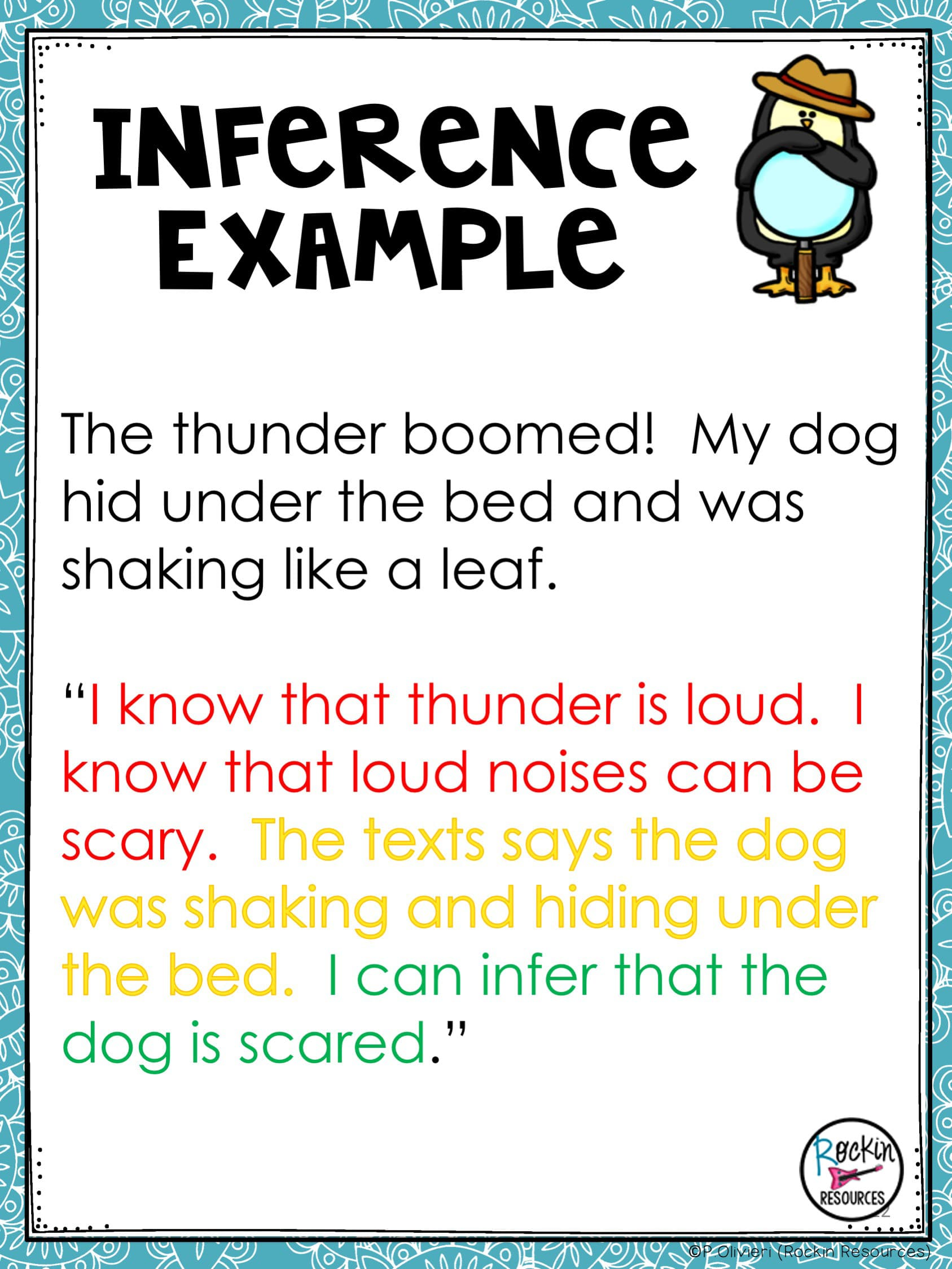 Inference Text Example Rockin Resources