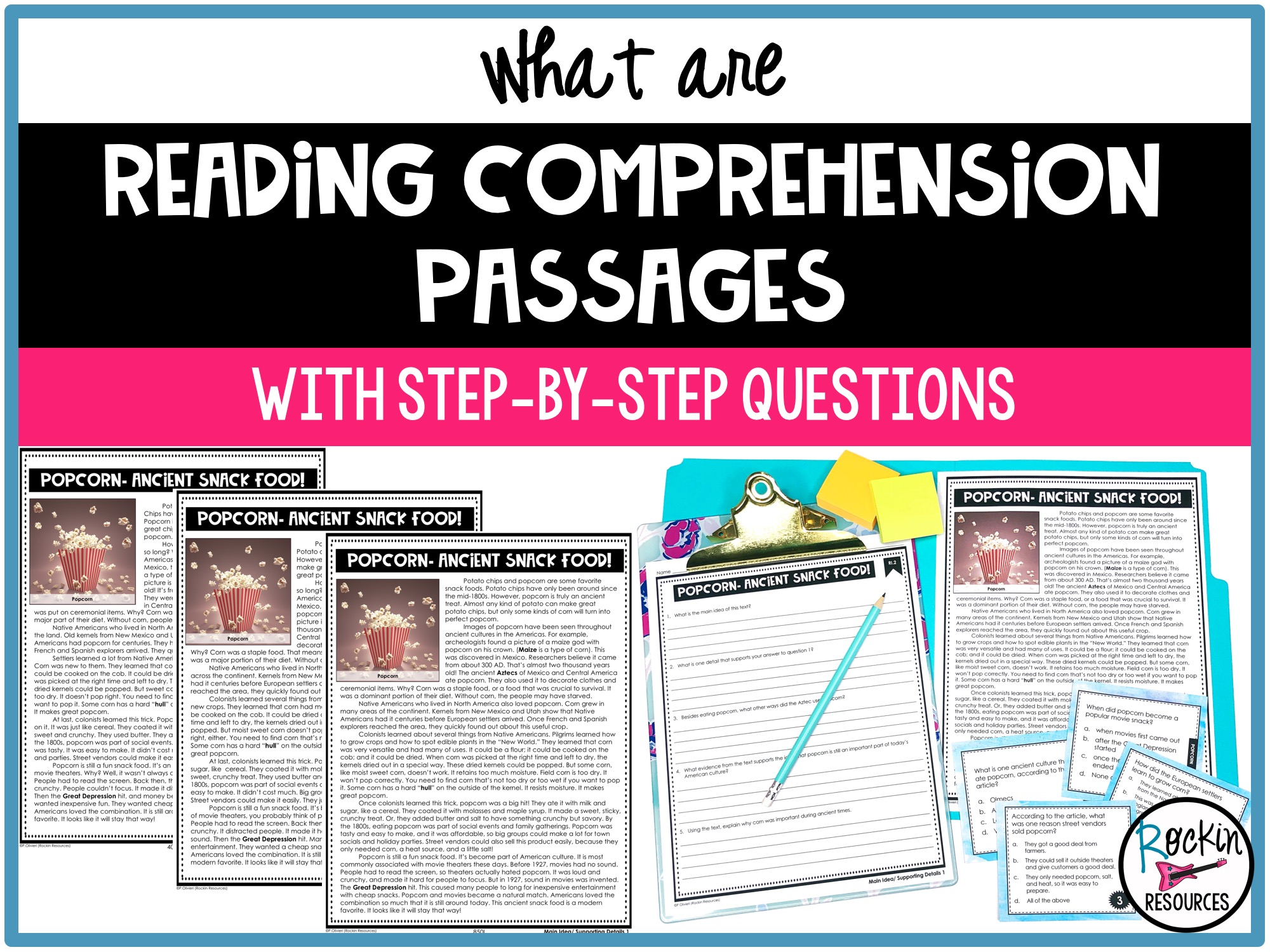 - What Are Reading Comprehension Passages With Step-by-Step