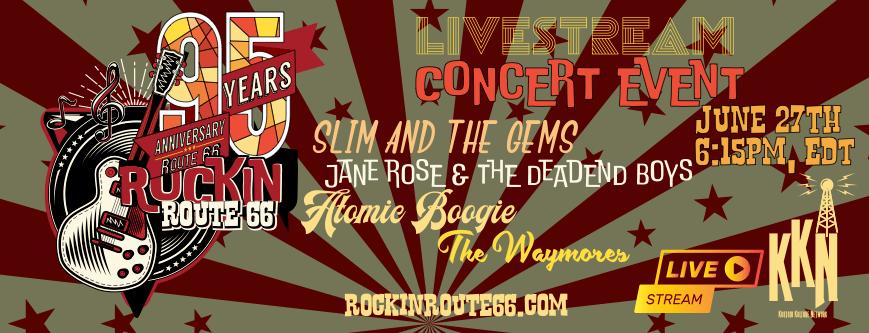 Rockin Route 66 Livestream Concert Event
