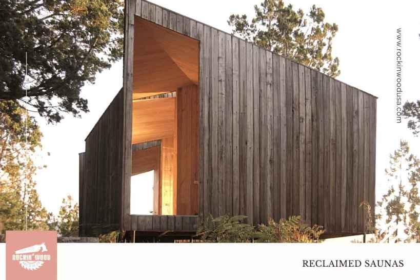 Reclaimed Wood Sauna