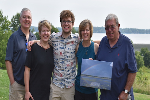 Glenn and Family receive Annual Stewardship Award