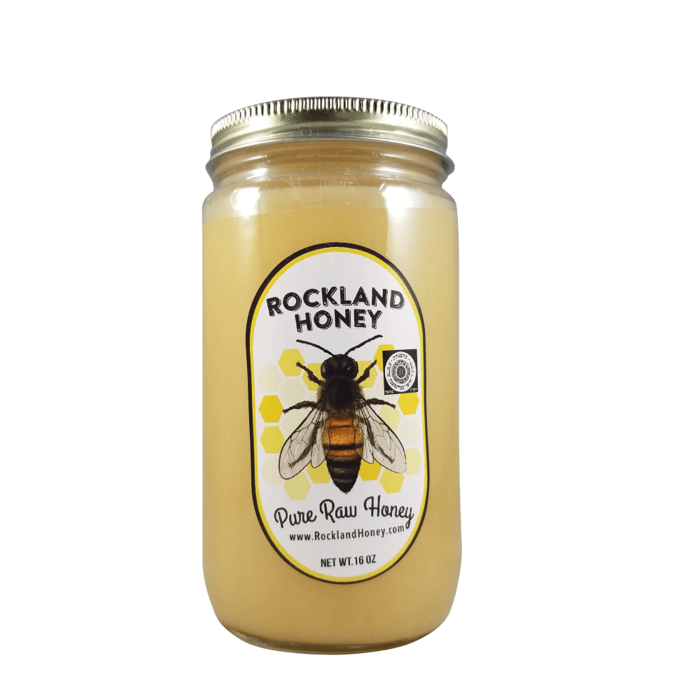 1 lb Creamed Raw Honey (Not Local)
