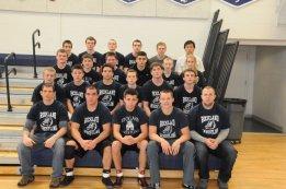 2013 Varsity Wrestling Team.