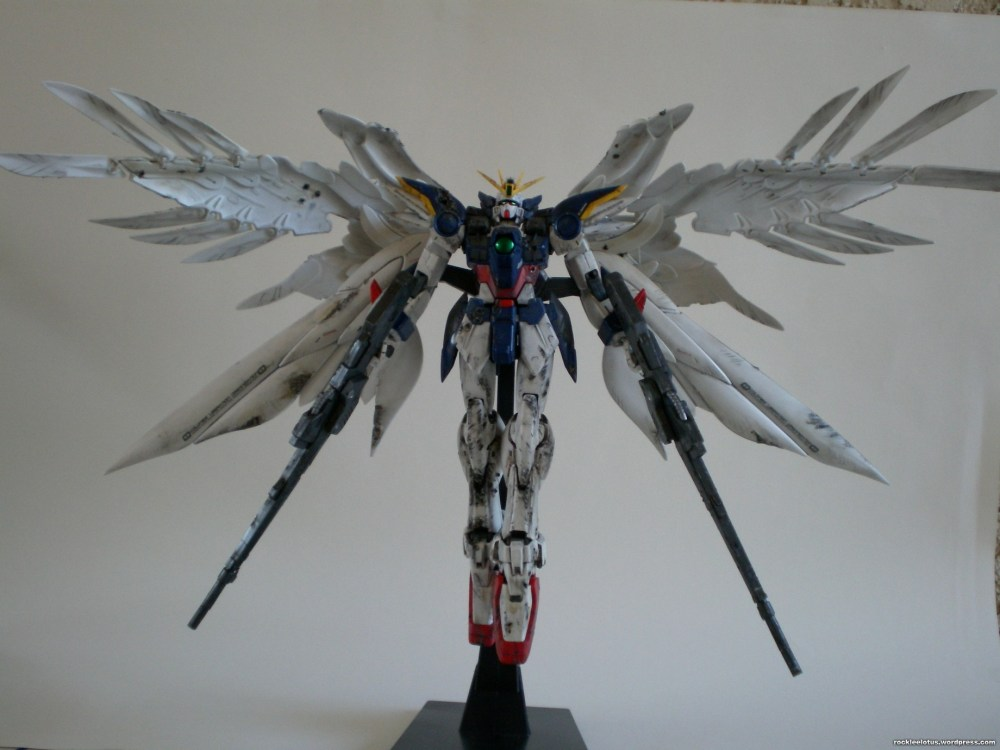 MG Wing Zero Custom WIP 07 -Completed? + Rifle Mod- (1/6)