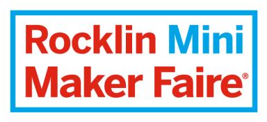 Rocklin Mini Maker Faire logo