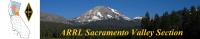 American Radio Relay League Sacramento Valley Section