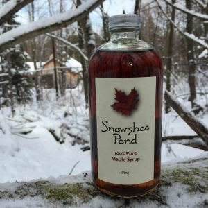 Snowshoe Pond Maple Syrup (Pint)