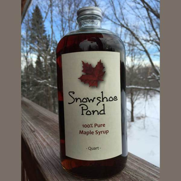 Maple Syrup Quarts