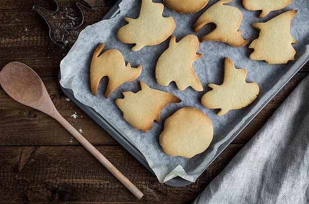 Spooky Maple Cookies!
