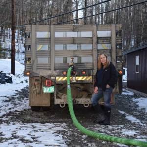 Maple Sap Truck
