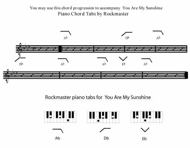 You Are My Sunshine - Rockmaster Songbook