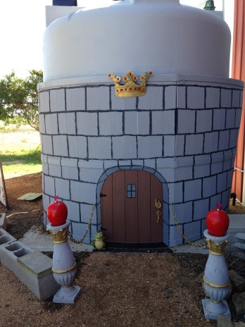 The Red Queen's Castle.