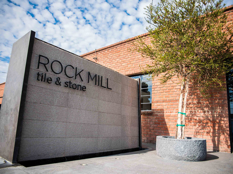 about rock mill tile and stone